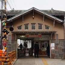 南海,5月25日から諏訪ノ森駅西駅舎を仮駅舎に変更