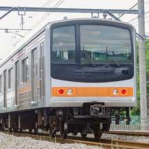 205系M35編成が新津へ