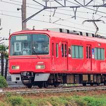 各務原線で乗務員訓練列車運転