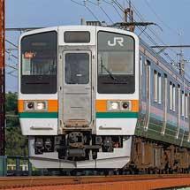211系が上野へ