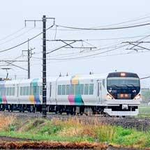 E257系が信越本線に入線