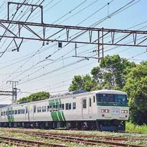 『Y160記念列車』,185系で運転