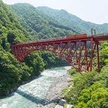7月28日開催黒部峡谷鉄道「トロッコ電車で行く親子ふれあい体験ツアー!」の参加者を募集