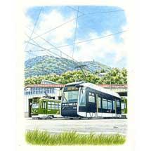 6月3日〜15日鈴木周作 作品展「市電日記2019〜スロウな電車の原画展〜」開催