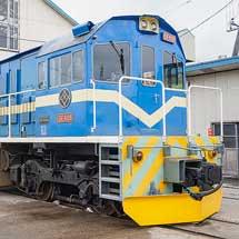 春採駅にて『ありがとう石炭列車見学会』が開催される