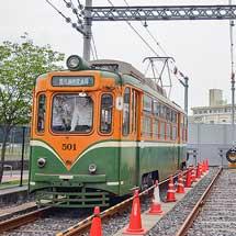鹿児島市交で 『路面電車の日運転体験会』開催