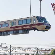 クロ381-11が西浜松へ