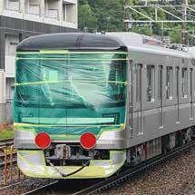 東京メトロ13000系第34編成が甲種輸送される