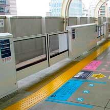 京急蒲田駅3・6番線ホームで,ホームドアの設置に着手