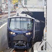 相鉄12000系が新横浜線に入線