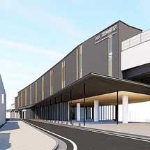 西鉄天神大牟田線雑餉隈駅の高架駅舎デザインが決定