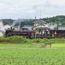 C57 180が磐越西線で試運転を実施