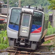 N2000系2460号車が松山に戻る