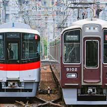 山陽6000系4両編成が試運転で阪神・阪急へ