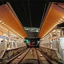 東急,池上線旗の台駅の「木になるリニューアル」が7月31日に竣工