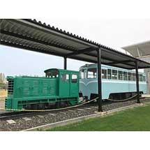 8月1日〜31日「鶴居村営軌道」保存車両の見学の方に,ポストカードのプレゼントを実施