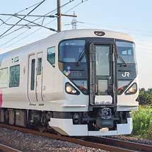 E257系0番台が団臨で長岡へ