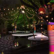 小田急,箱根エリアで「箱根湯本Summer Night Village ~29番地BAR&GRILL~」など開催
