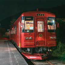 長良川鉄道で観光列車「ながら/もり」号車両の団臨運転
