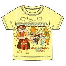 JR四国,「アンパンマン列車Tシャツ」の第4弾を発売