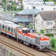 東急5050系11両が甲種輸送される