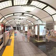 大阪市高速電気軌道,梅田駅など5駅のリニューアルデザインを決定