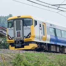 """特急""""富士回遊""""の夏季増発運転開始"""