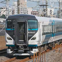 E257系2000番台が総武快速線内で試運転