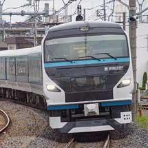 E257系2000番台が高崎線・上越線で試運転を実施