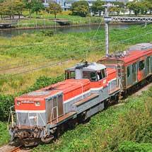東急6000系と3000系が甲種輸送される