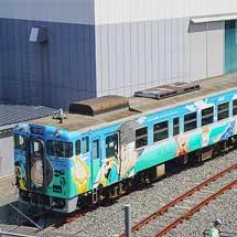 京都鉄道博物館でキハ40 2115「鬼太郎列車」の展示開始