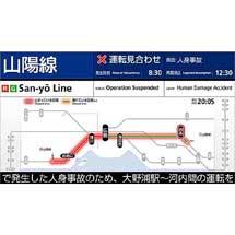 JR西日本,「異常時情報提供ディスプレイ」設置駅を拡大へ