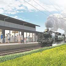 島田市の賑わい交流拠点名称が「KADODE OOIGAWA」に決定大井川鐵道新駅も設置へ
