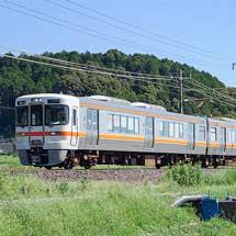 313系が新垂井経由で関ヶ原へ