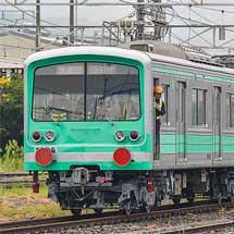 伊豆箱根鉄道5000系5505編成が「ミント・スペクタル・トレイン」に