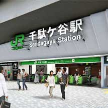 JR東日本,千駄ケ谷駅の新駅舎と新ホームの供用開始
