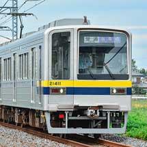 東武20400形が南栗橋—新栃木間で日中に営業運転を開始