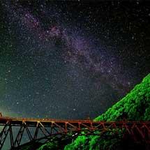 9月27日〜29日黒部峡谷鉄道「星空トロッコ」の参加者を募集
