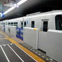 大阪モノレール,9月28日から南茨木駅で可動式ホーム柵の使用を開始
