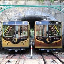 京阪,鋼索線の通称・駅名変更にあわせて車内放送の一部を変更