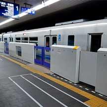 大阪モノレール,蛍池駅で可動式ホーム柵の設置に着手