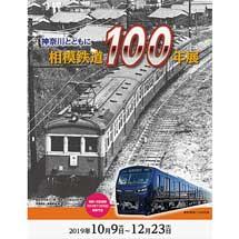 10月9日〜12月23日原鉄道模型博物館「相模鉄道100年展」開催