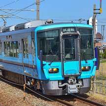 IRいしかわ鉄道の521系2次車が出場試運転で福井まで入線