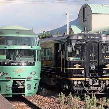 久大本線で「A列車で行こう」による団臨運転