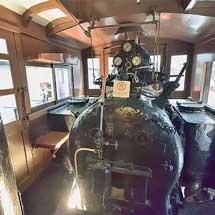 リニア・鉄道館でC62運転台とホジ6014号車内の特別公開