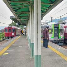 養老鉄道で『D×TQバトンタッチイベント』開催