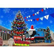 11月9日〜12月25日富士急ハイランド「トーマスランド クリスマス2019」開催