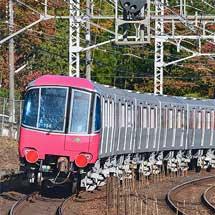 都営12-600形8両が甲種輸送される