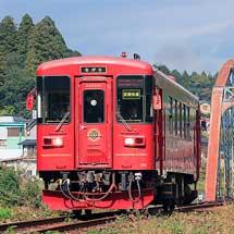 長良川鉄道で『さわやかウォーキング』にともなう輸送力増強