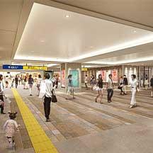 JR東日本,12月7日から横浜駅西口新設地下連絡通路の供用を開始